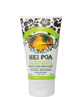 HEI POA Exfoliating Shower Gel Monoi